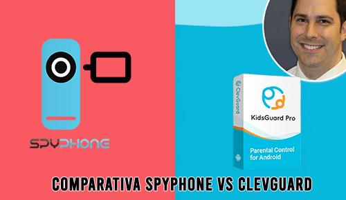 Comparativa entre Spyphone vs Clevguard